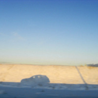 car shadow, iceland